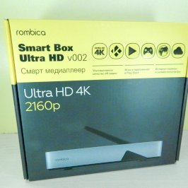 Медиа плеер rombica Smart Box Ultra HD v002